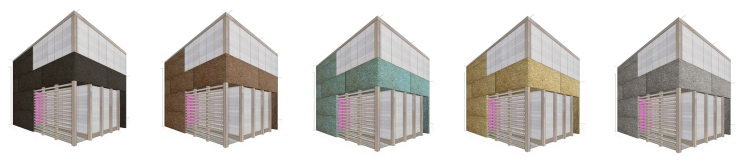 Color study for modular office plugin by GOATstudio